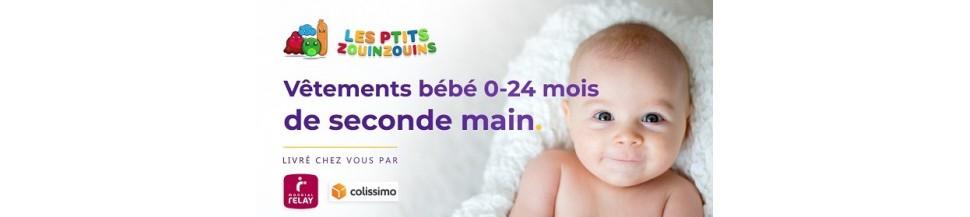 Bodys , vêtements bébé pas cher
